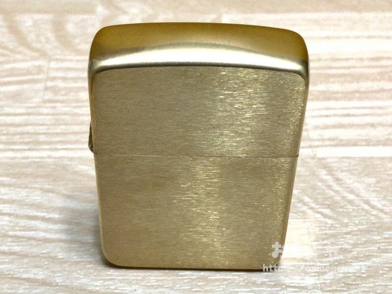 ブラス(真鍮)ジッポー経年変化